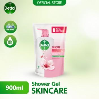 Dettol Shower Gel Skincare 900ml Refill Pouch