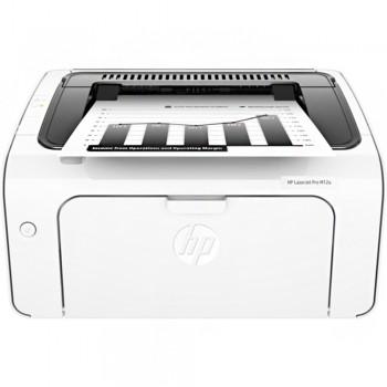 HP LaserJet Pro M12w Single Function Professional Quality And Reliability Mono Wireless Printer (T0L46A)