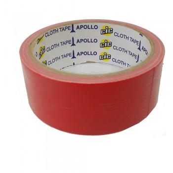 Apollo Premium Cloth Tape 36mm x 6yards Red
