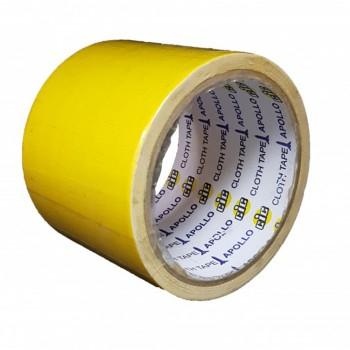 Apollo Premium Cloth Tape 36mm x 6yards Yellow