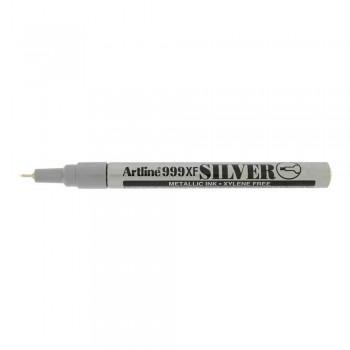 Artline 999XF Metallic Marker 0.8mm - Silver