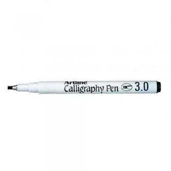 Artline EK-243 Calligraphy Pen 3mm - Black