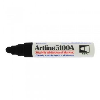 Artline 5100A whiteboard Big nib marker 5mm - Black