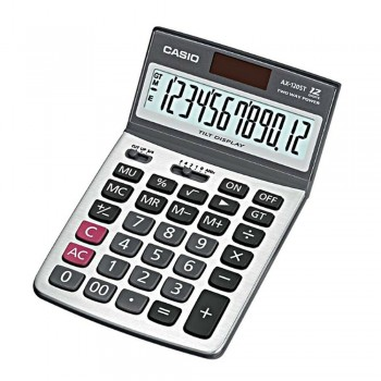 Casio Desktop Calculator - 12 Digits, Tilt Display (AX-120ST)