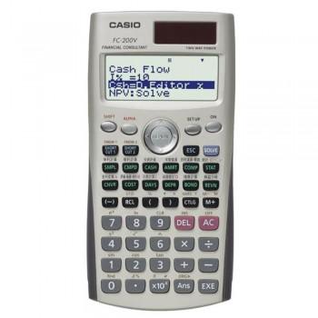 Casio Financial Models Calculator - 10 + 2 Digits, Key rollover (FC-200V)