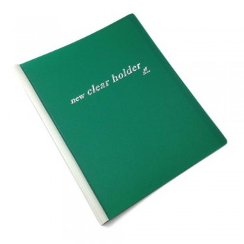 East-File Clear Holder 359A - A4 Size - Green (Item No: B11-62-G) A1R3B184