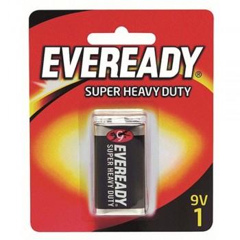 EVEREADY Super Heavy Duty 9V Carbon Zinc Batteries - 9V Size - 1pc (Item No: B06-15) A1R2B228
