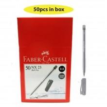 Faber Castell NX23 0.5mm Black Ball Pen (642313) - 50pcs/box