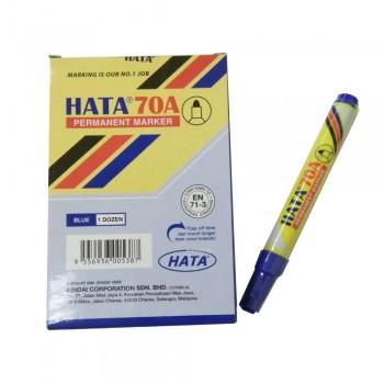 Hata Permanent Marker 70A Blue
