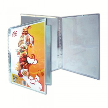 K2 168A Multipurpose Transparent Menu Holder (Refillable) / with 10 pieces refill
