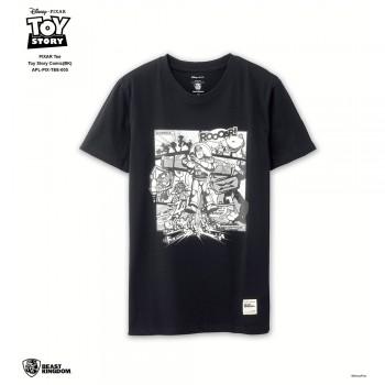 APL-PIX-TEE-005 PIXAR Tee Toy Story Comic (Black, Size XL)