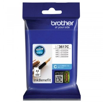 Brother LC-3617 Cyan Ink