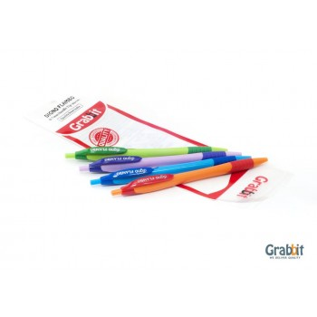 GRABBIT DIGNO FLAMBO BALL PEN  BLACK INK