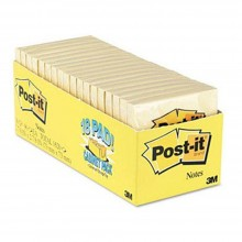 3M 654-18CP Post-It Yellow 90's