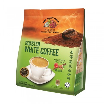 Dragon Fruit Brand - Roasted White Coffee Hazelnut 40g x 15 sticks