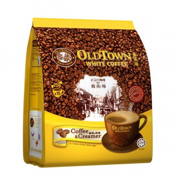 OLDTOWN White Coffee 2 -in-1 Coffee & Creamer Instant Premix (25g x 15s)