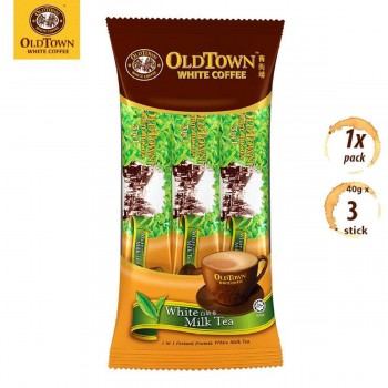 OLDTOWN White Coffee 3-in-1 Instant Premix White Milk Tea Convenient Pack (3s x 1 Pack)