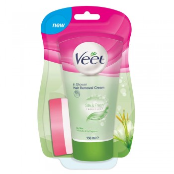 Veet In Shower Hair Removal Dry Skin 150ML