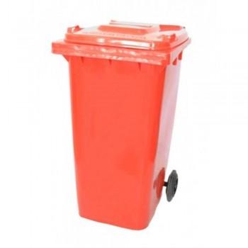 LEADER Mobile Garbage Bins BP240 Red