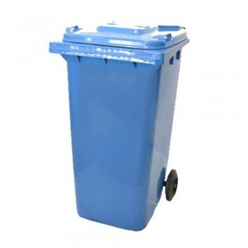 Mobile Garbage Bins 120-PEDAL (with Foot Pedal) Blue (Item No: G01-66)