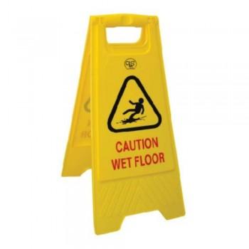 A-Standing Caution Sign -CAUTION WET FLOOR