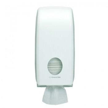 SCOTT® AQUARIUS Hygienic Bath Tissue Dispenser - White