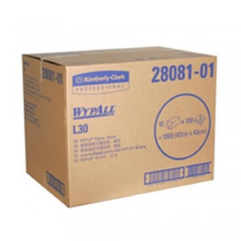 Scott Wypall L30 Pop Up Box 3ply (Unbleached)