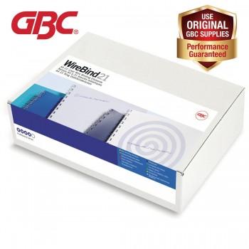 GBC WireBind 21 Loops - 10mm, A4, 78 Sheets, Black