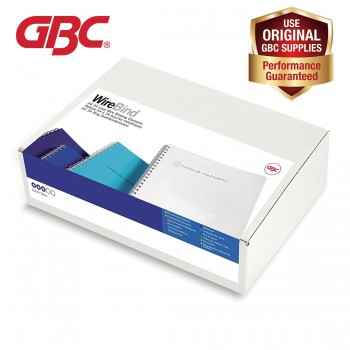 GBC WireBind 34 Loops - 10mm, A4, 85 Sheets, Black