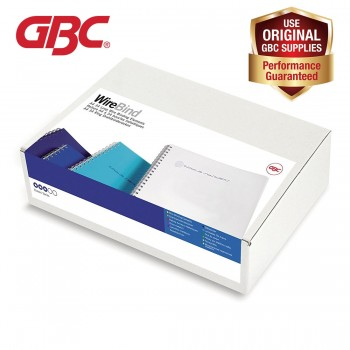 GBC WireBind 34 Loops - 10mm, A4, 85 Sheets, White