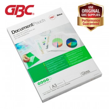 GBC Laminating Pouch 100 Mic 303x426mm A3