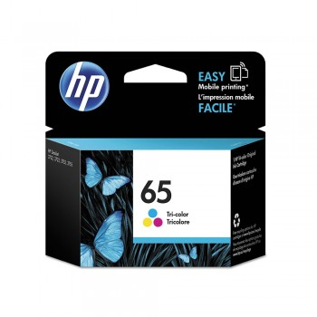 HP 65 Tri-Color Original Ink Cartridge