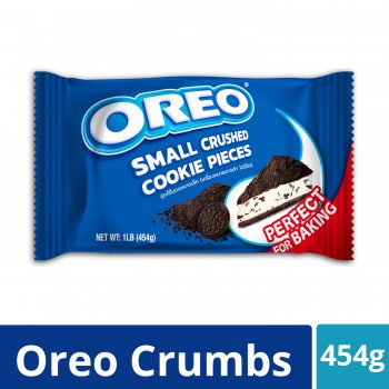 Oreo Crumbs Small Crushed Cookies Pieces (454g)