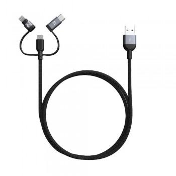 Adam Elements Peak Trio 120B Lightning Cable - Gray