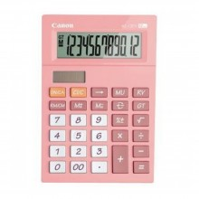 Canon AS-120V-PI Arc Design 12 Digits Calculator (Pink)