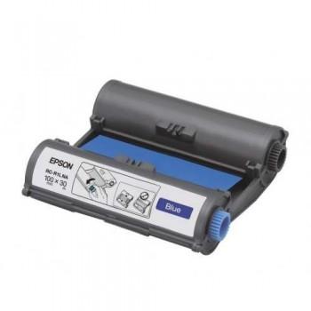 Epson RC-R1LNA LabelWorks Tape - 100mm Blue Ribbon