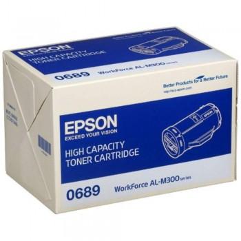 Epson SO50689 High Cap Toner Cartridge - Black (Item No: EPS SO50689)