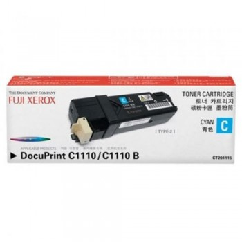 Xerox C1110 CT201115 Cyan Toner Cartridge (Item No: XER C1110-CY)
