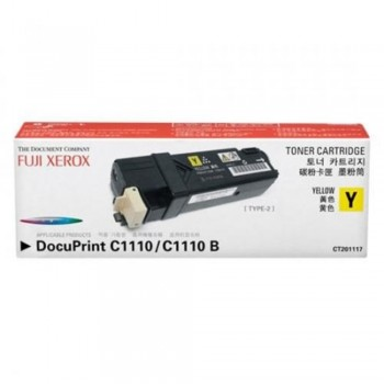 Xerox C1110 CT201117 Yellow Toner Cartridge (Item No: XER C1110-YEL)