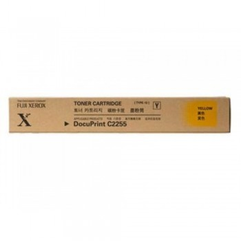 Xerox C2255 Yellow Toner Cartridge (Item no: XER C2255Y)