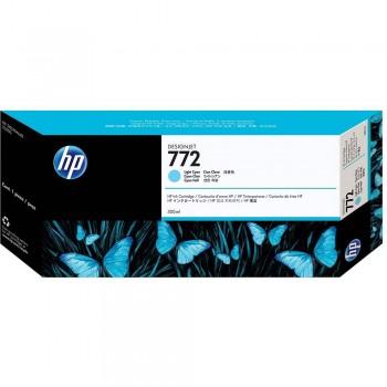 HP 772 DesignJet Ink Cartridge 300-ml - Light Cyan (CN632A)