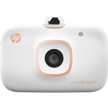 HP Sprocket 2-in-1 Photo Printer - White