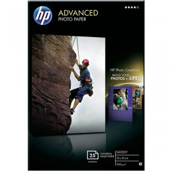 HP Advanced Gloss Photo Paper 25 shts (4R) (Q8691A)