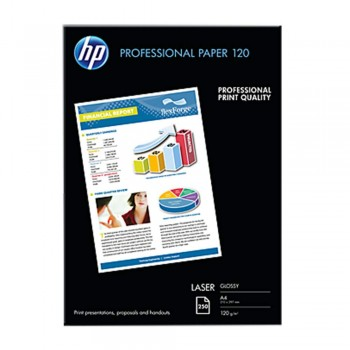 HP Professional Glossy LASER Paper 120 - A4 / 250 sheets / 120g (CG964A)
