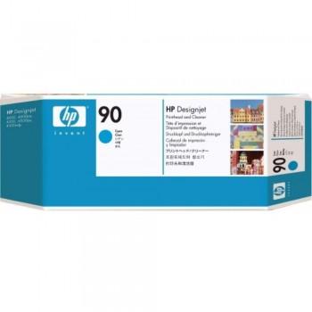 HP 90 DesignJet Printhead/Printhead Cleaner - Cyan (C5055A)