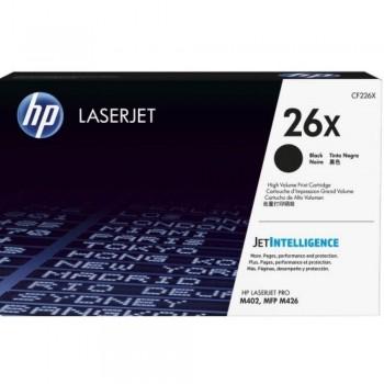 HP 26X Black LaserJet Toner Cartridge (CF226X)