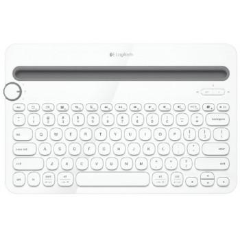 Logitech Bluetooth Multi-Device Keyboard K480 - White