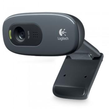 Logitech HD Webcam C270 - 720p Widescreen Video Calling and Recording