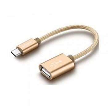 USB Type-C to USB 2.0 OTG (F) - 20cm