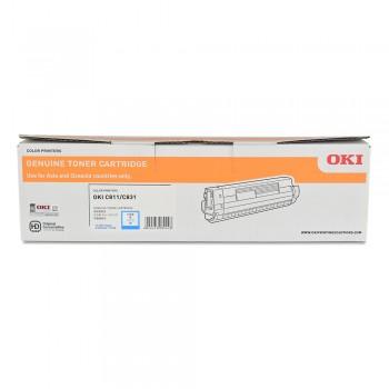 OKI C831 Cyan Toner - 44844525